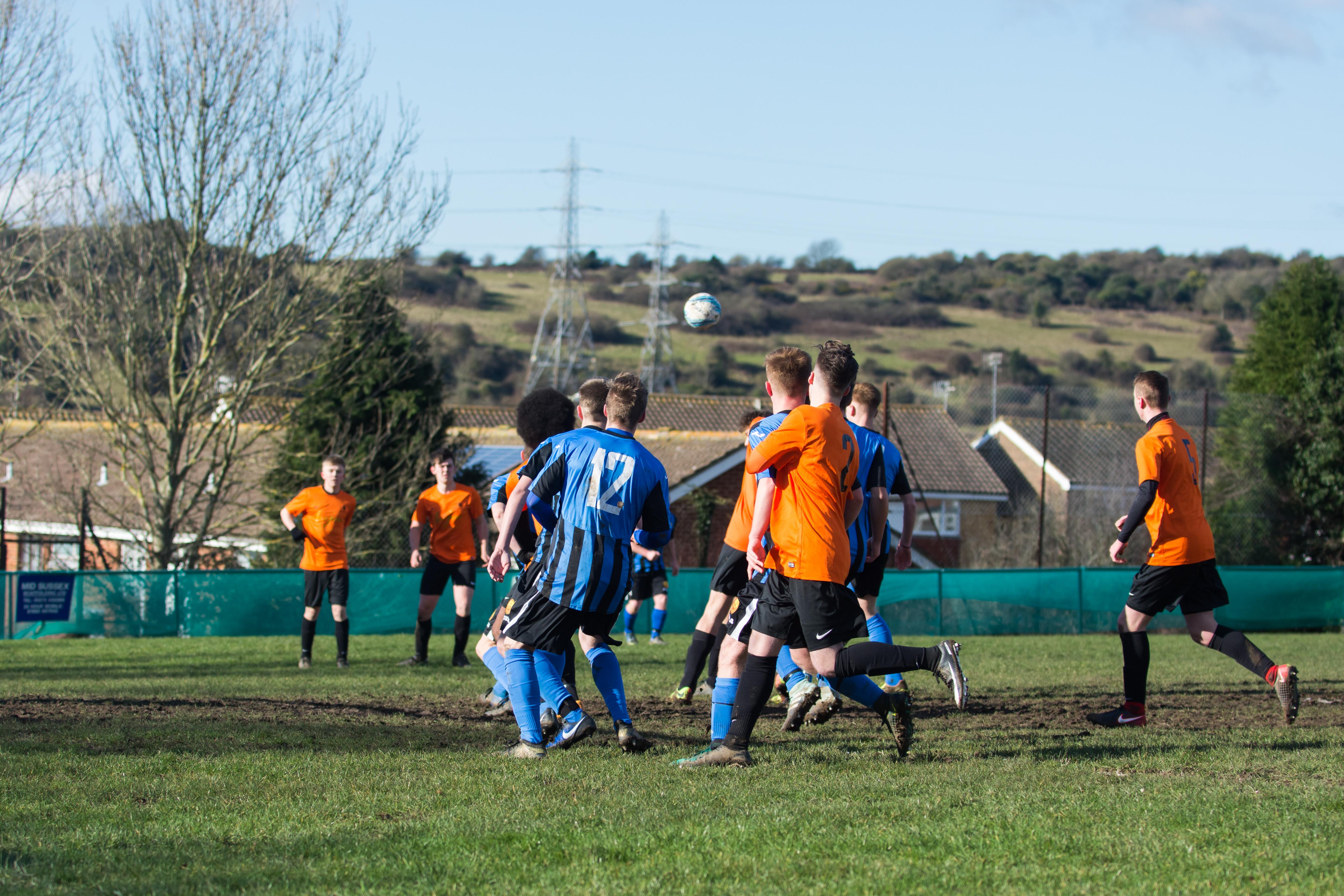 Mile Oak FC U18s vs Newhaven FC U18s 04.02.18 12