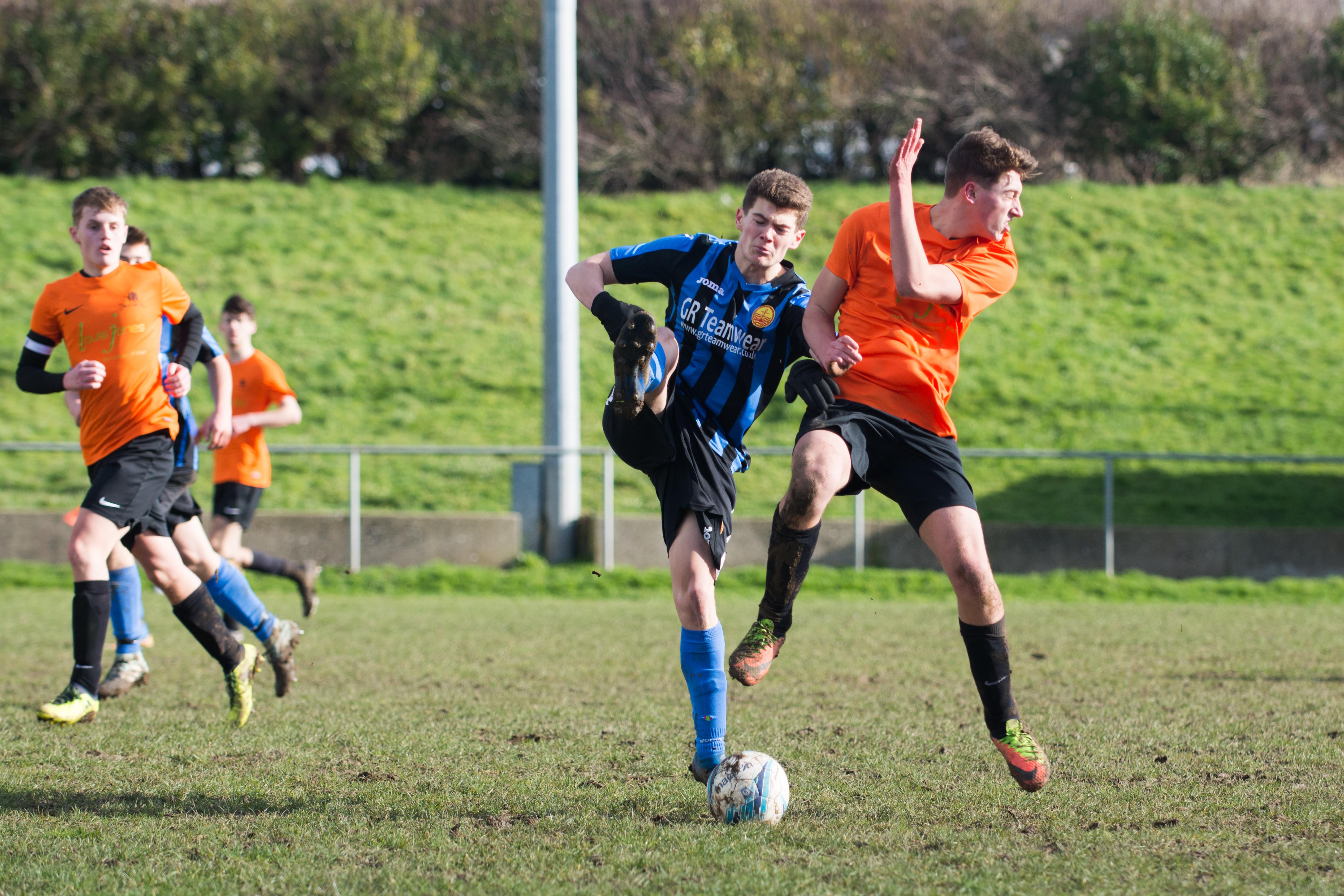 Mile Oak FC U18s vs Newhaven FC U18s 04.02.18 22
