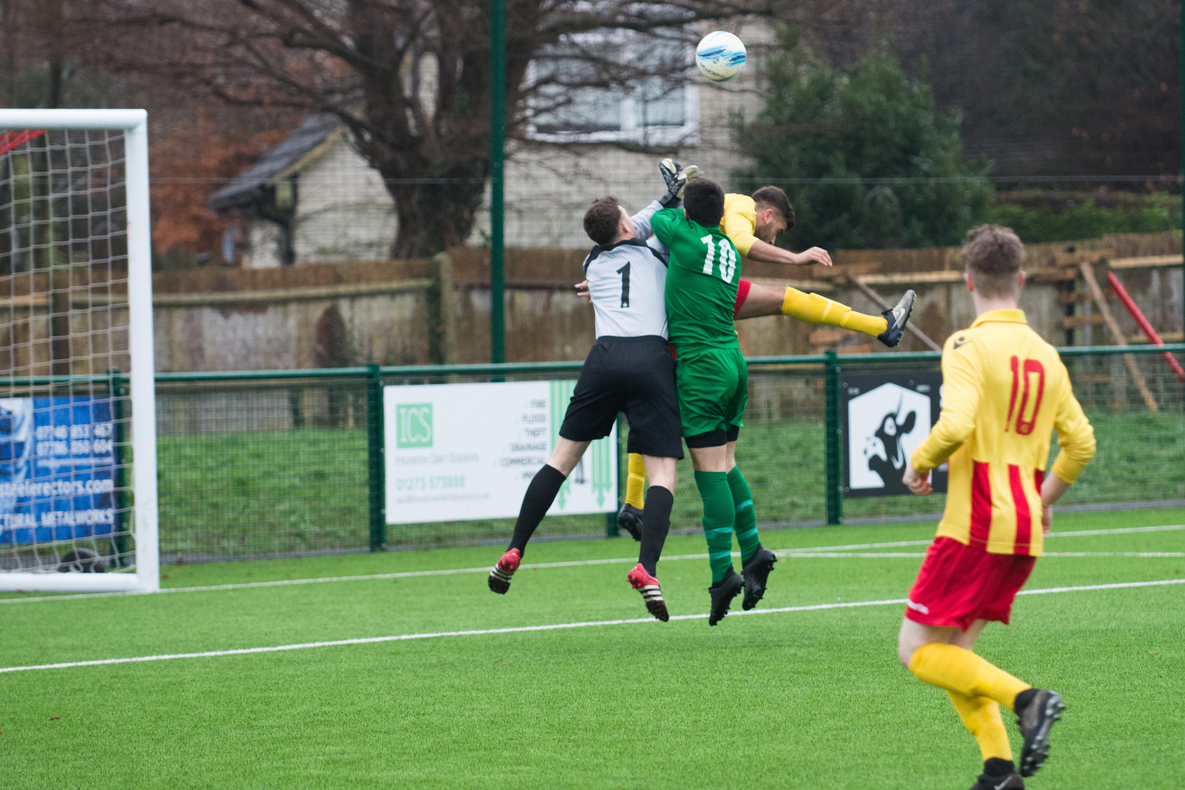 Lingfield FC vs Mile Oak FC 20.01.18 04