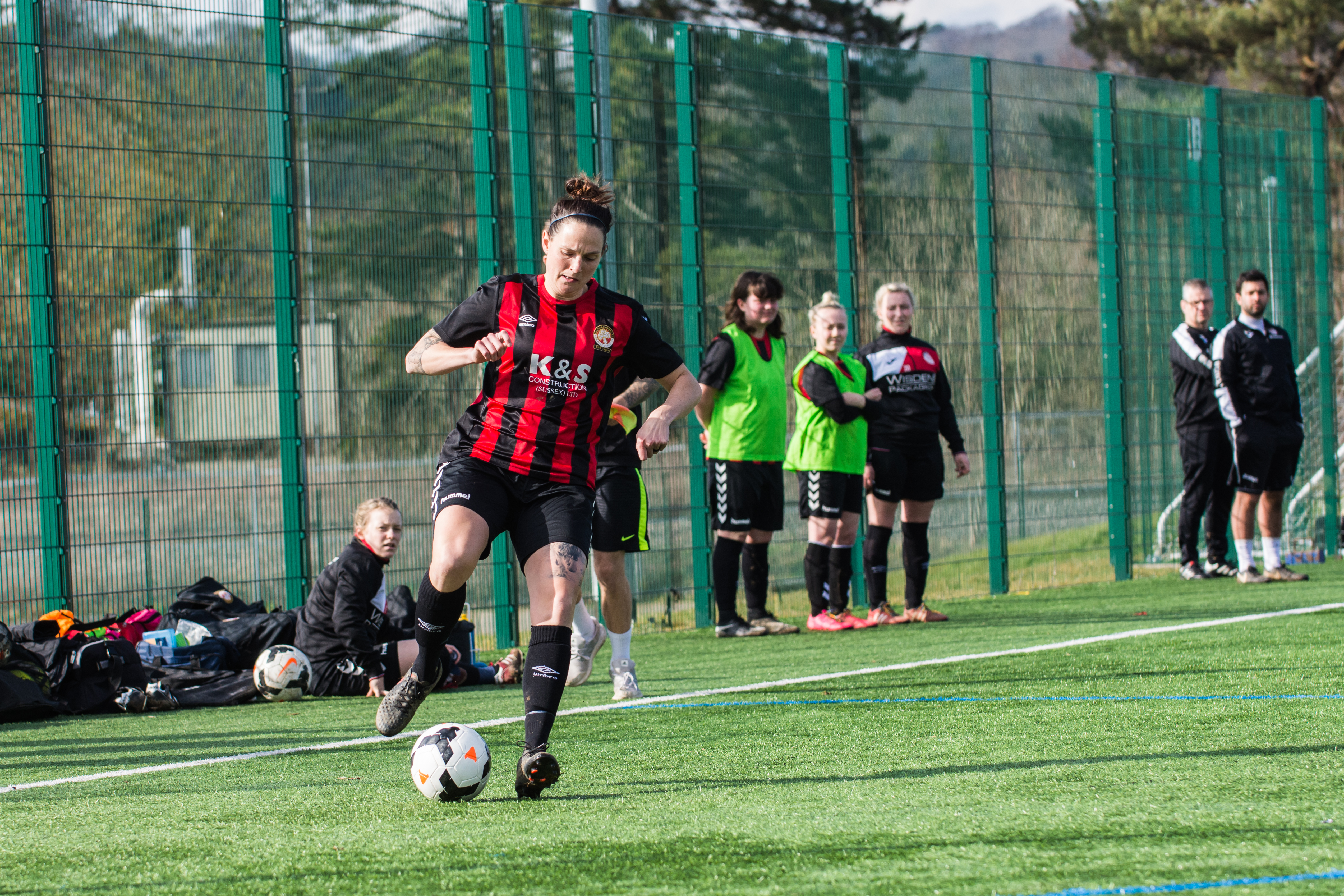 DAVID_JEFFERY Saltdean Utd Ladies FC vs Worthing Utd Ladies FC 11.03.18 08