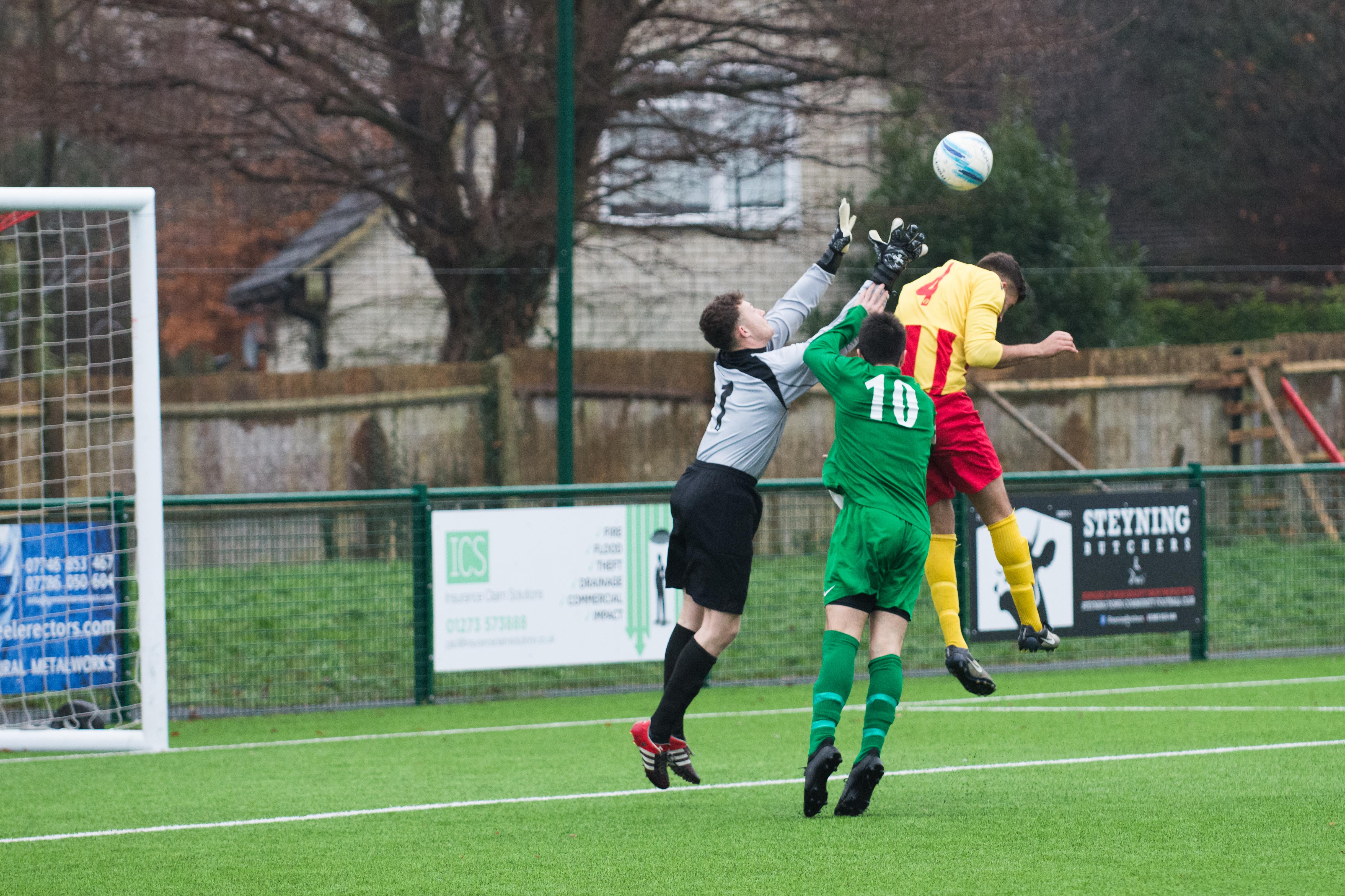 Lingfield FC vs Mile Oak FC 20.01.18 03