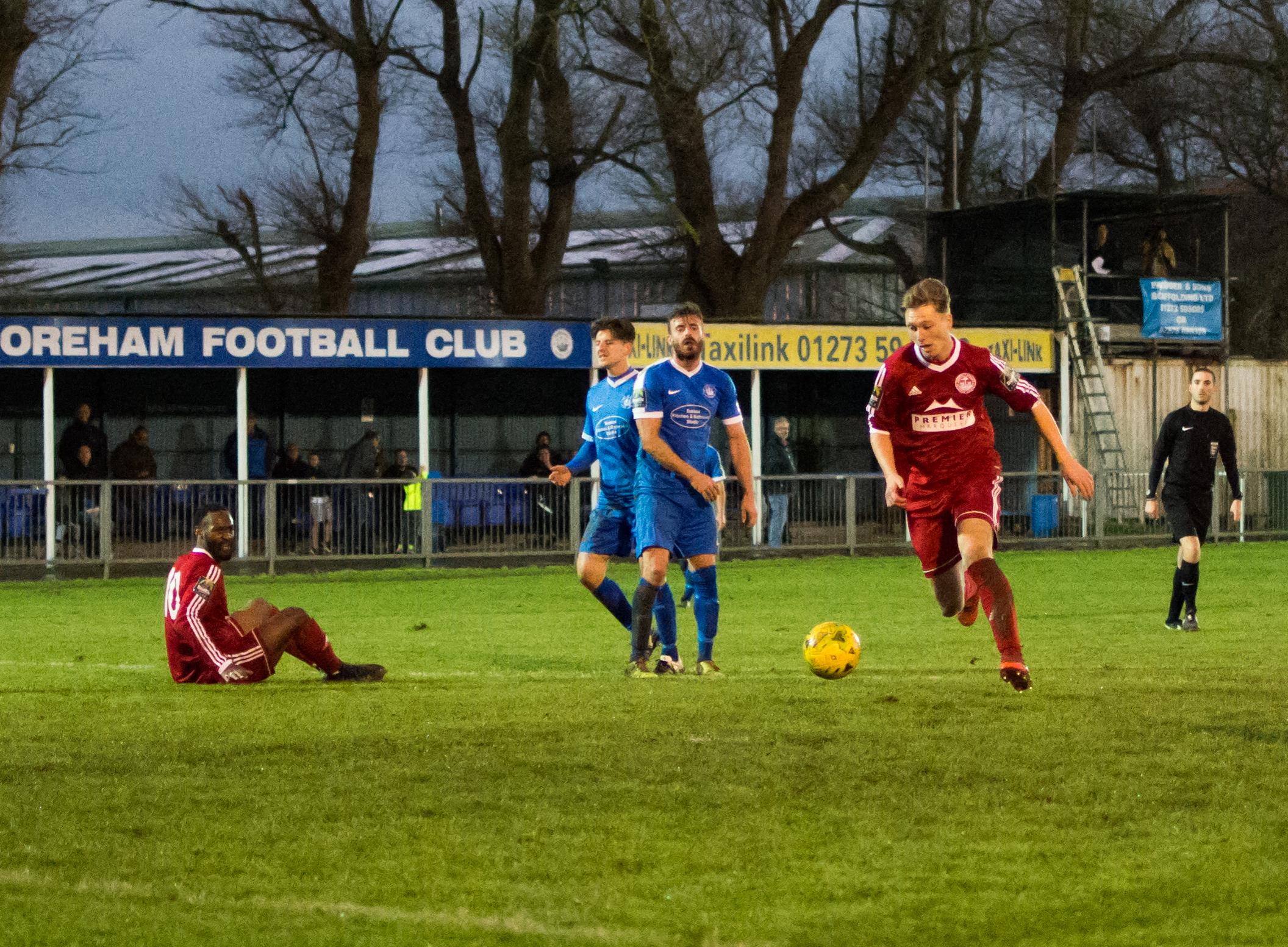 Shoreham FC vs Hythe Town 11.11.17 84