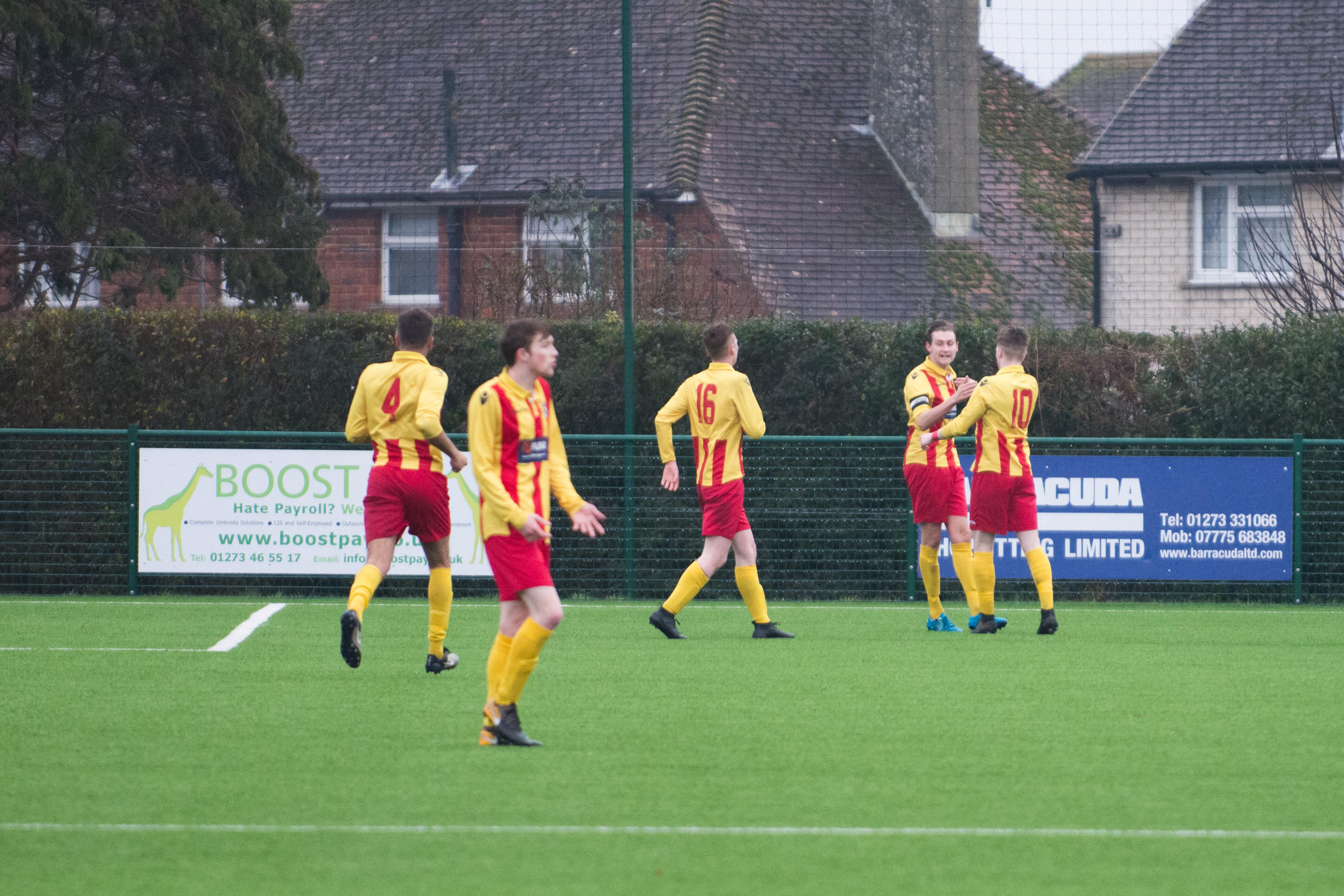 Lingfield FC vs Mile Oak FC 20.01.18 16