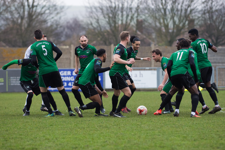 Shoreham FC vs Phoenix Sports 13.01.18 17