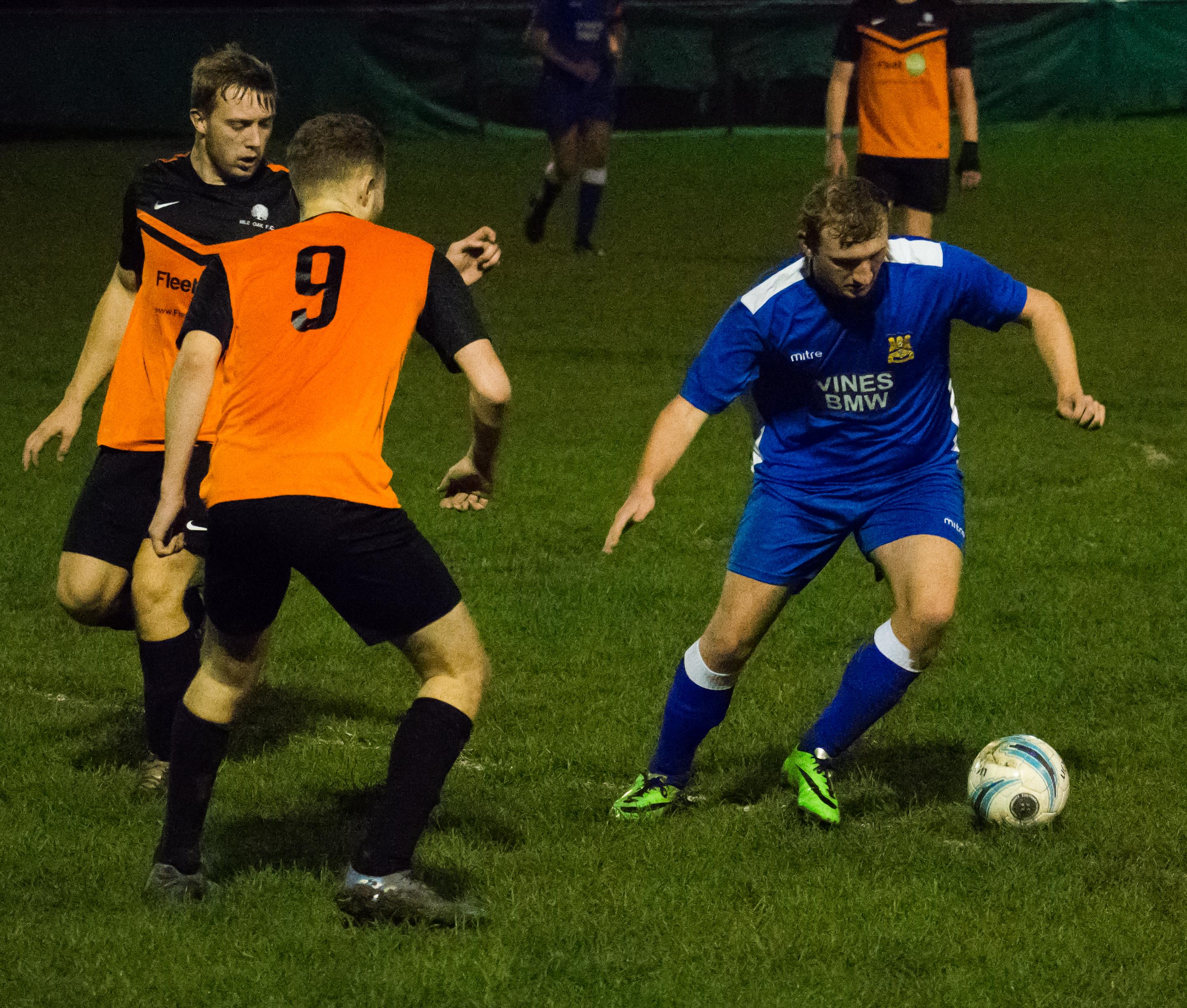 Mile Oak U21s vs Three Bridges U21s 09.11.17 07