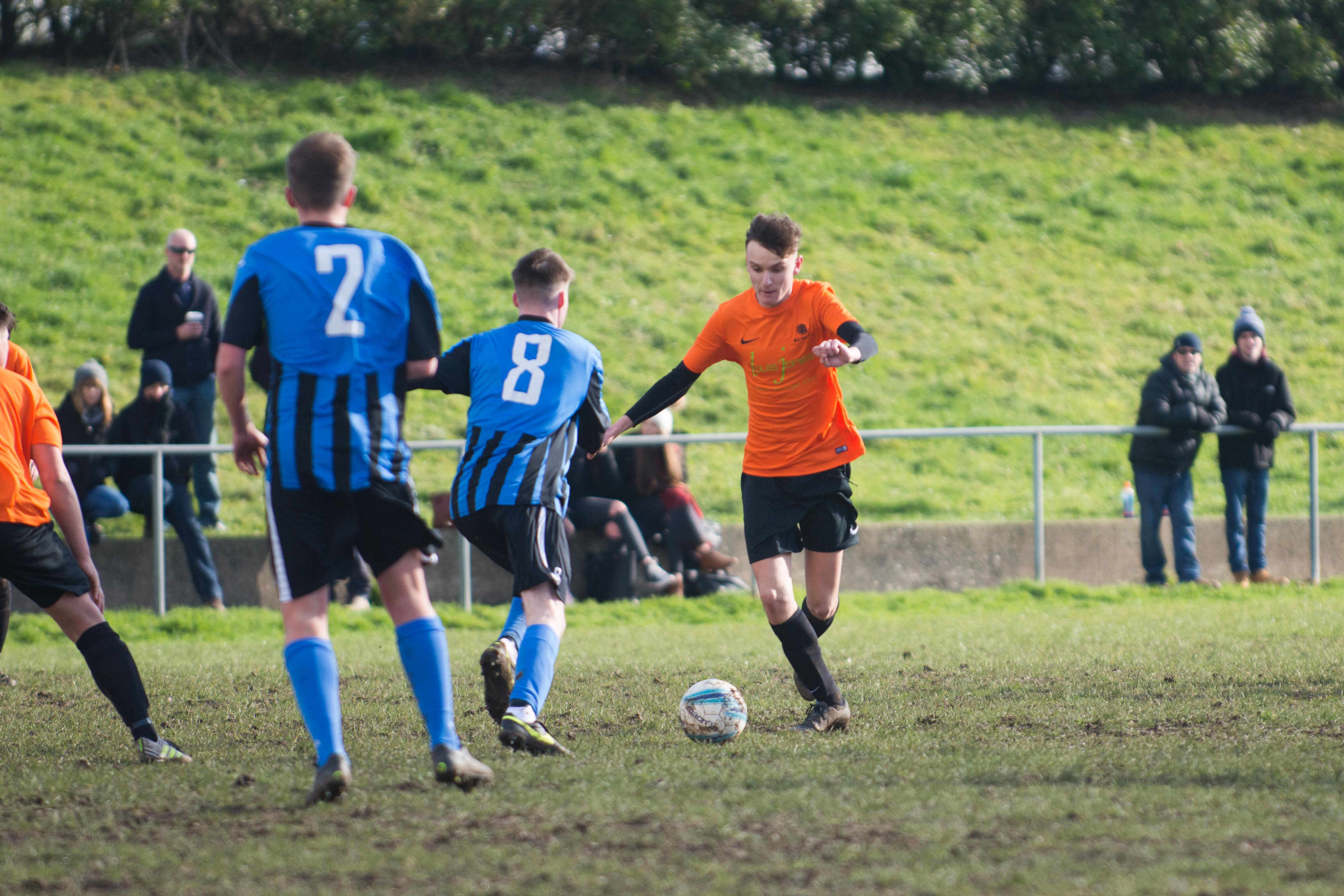 Mile Oak FC U18s vs Newhaven FC U18s 04.02.18 21