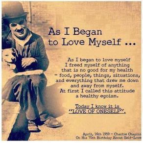 Toen ik van mijzelf begon te houden