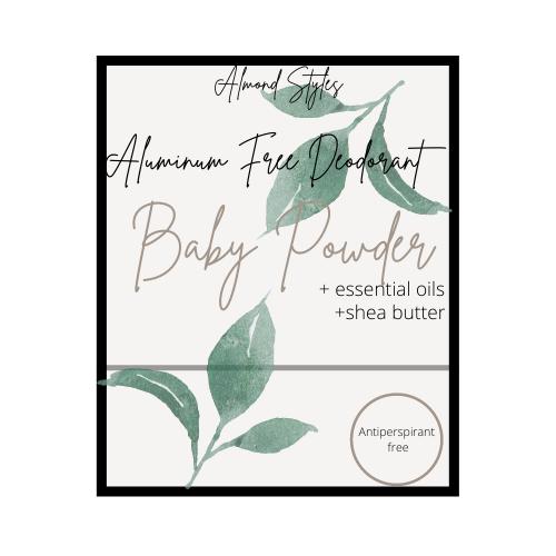 Baby Powder Aluminum Free Deoderant