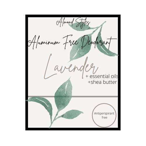 Lavender Aluminum Free Deodorant