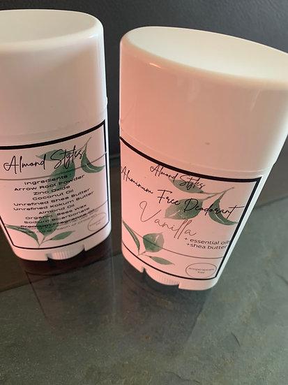 Vanilla Aluminum Free Deodorant