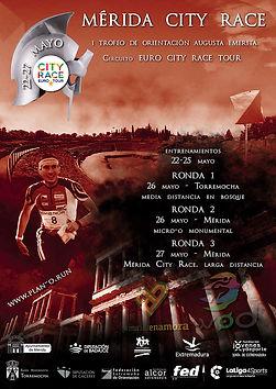 Cartel Mérida City Race 2018