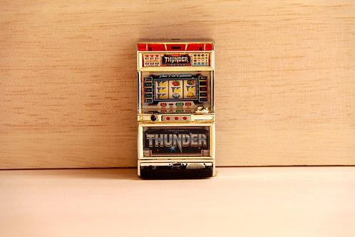 Miniature Pachislo Toy - Thunder V (Aruze)