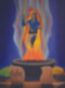 Sending Prayers Through The Fire