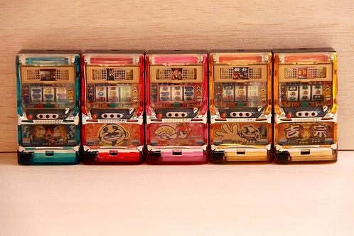 Miniature Pachislo Toy - 5 Sets of Yoshimune (Daito)