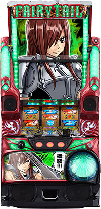 Pachislo Fairy Tail - Erza Panel (Fujishoji)
