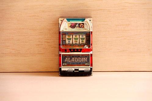 Miniature Pachislo Toy - Aladdin II Evolution (Sammy)