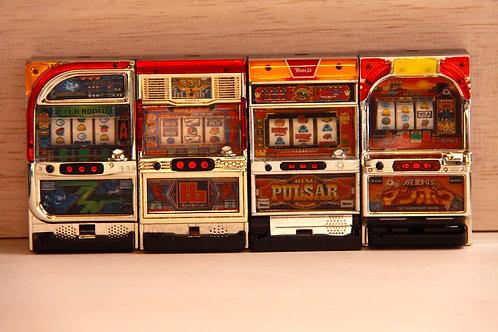 Miniature Pachislo Toy - 4 Sets