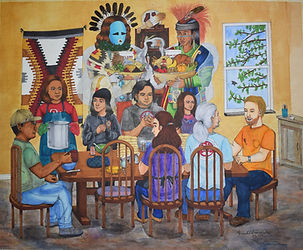 Family, Stew, Frybread, and Blessings From The Holy Ones