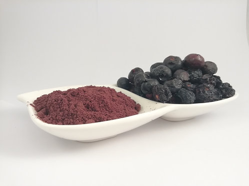 Arándano orgánico y/o convencional Liofilizado en Polvo