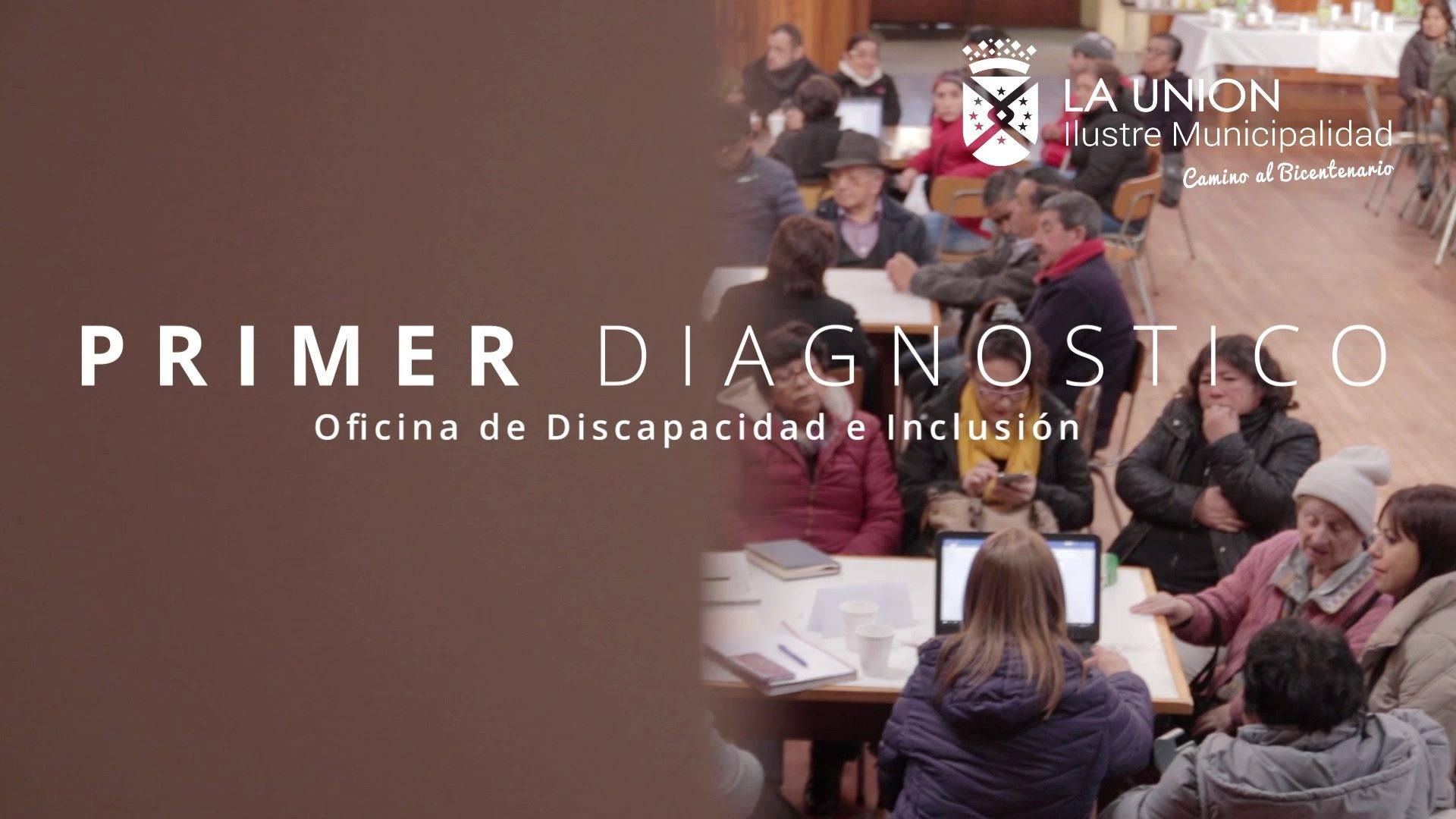 """Oficina de la Discapacidad e Inclusión """"Primer Diagnóstico"""""""