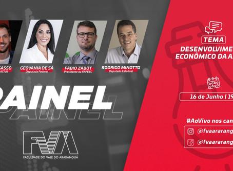 Painel FVA reúne autoridades e debate alternativas ao desenvolvimento regional