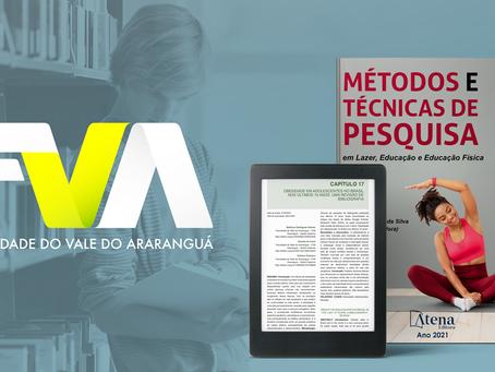 Publicação traz pesquisa de acadêmico da FVA
