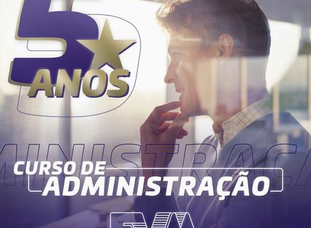 Administração da FVA completa 05 anos de atividades