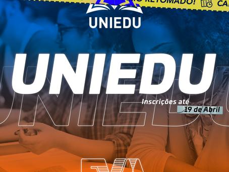 Programa de Bolsas UNIEDU | Retomada