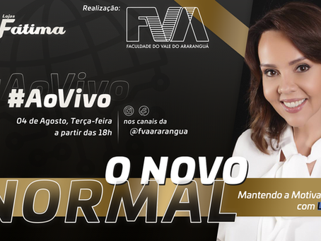 O Novo Normal: Live com Laine Valgas discute motivação e positividade durante rotina da pandemia