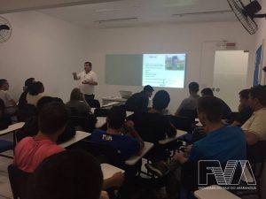FVA recebe palestra institucional do CREA e do CREA-Jr