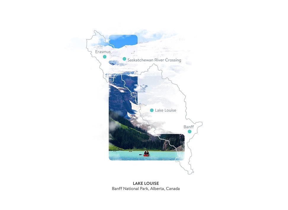 L, Lake Louise