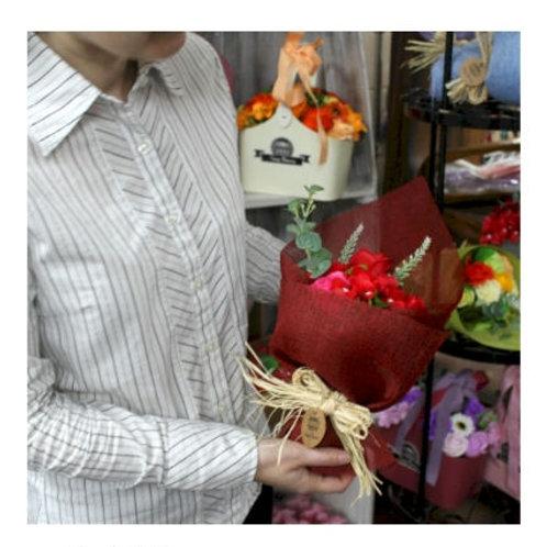 Luxury Box Soap Flower Bouquet