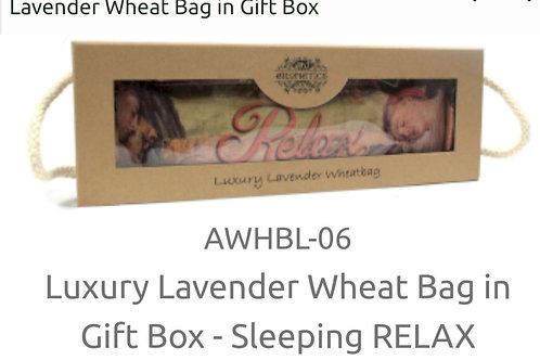 Luxury Lavender Wheat Bags