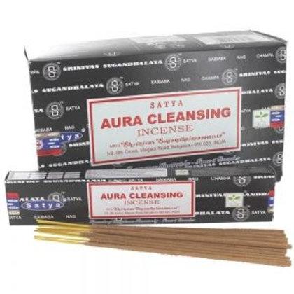 Satya Aura Cleansing Incense Sticks 15g