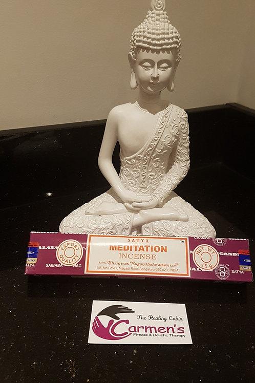Meditation Incense Satya Sticks 15g