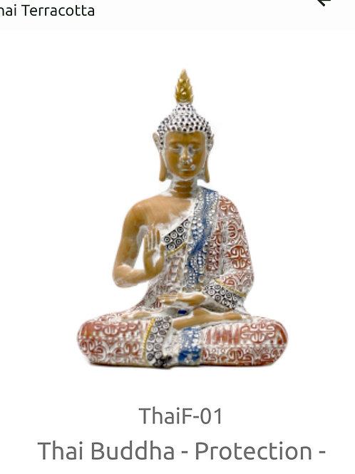 Thai Terracotta Buddha 15cm