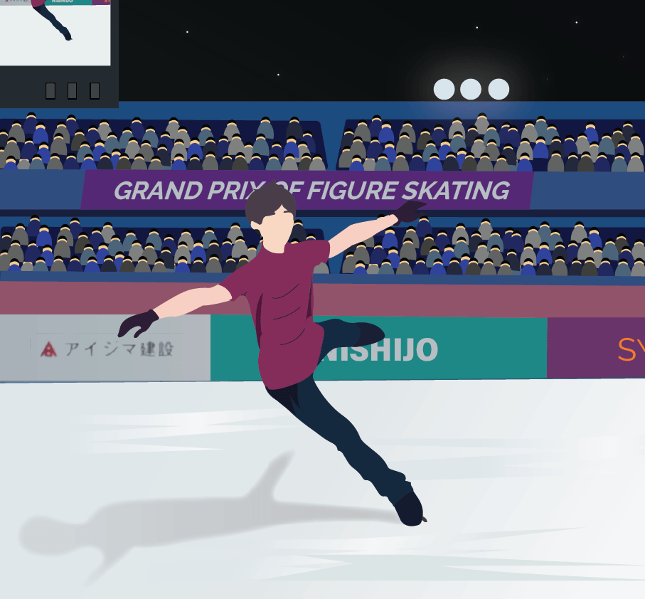 Yuri on Ice illustration