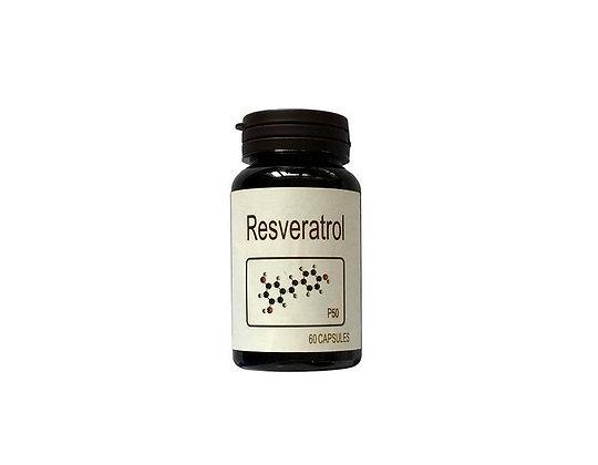 Resveratrol Capsules - P50 (60s)