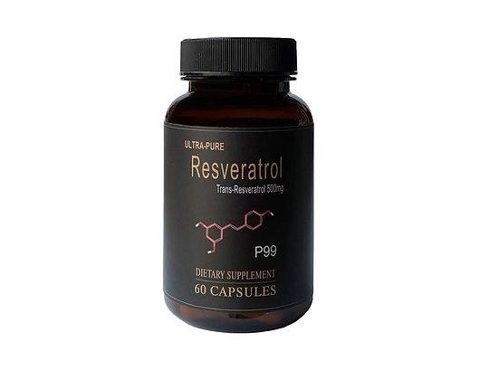 Resveratrol Capsules - P99 (60s)