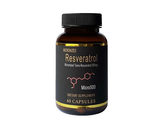Resveratrol Capsules - Micro500 (60s)