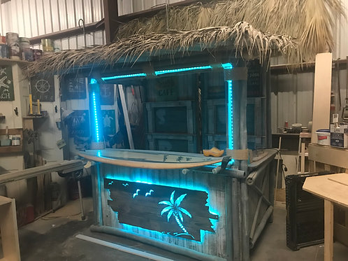 8' Full Tiki Bar