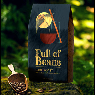 We seek inspiration from the coffee plant itself to create a symbol that is strongly linked to its source.