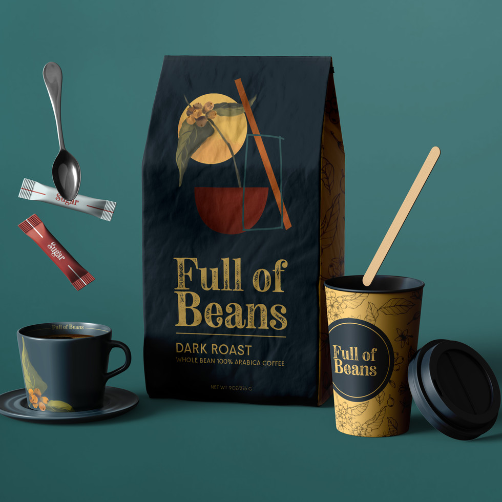 """""""Full of beans""""- Lively, energetic, in high spirits"""