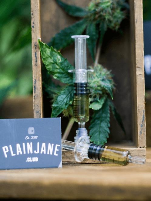 Plain Jane Vape Ready Distillate Syringe (1G)