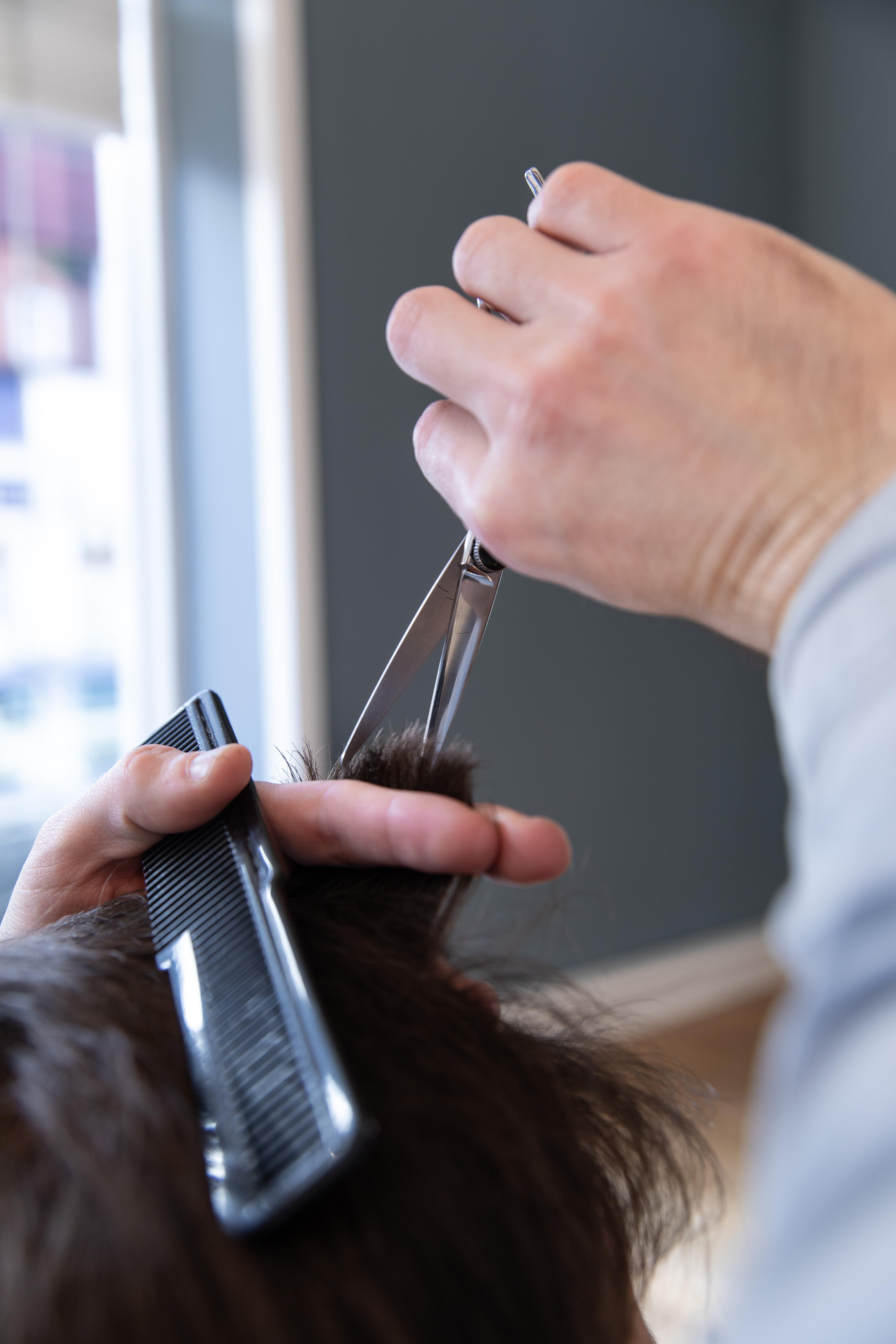 Barber Haircut Plus Beard Trim