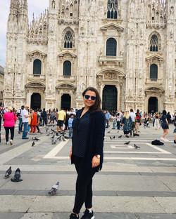 Irene in Piazza del Duomo