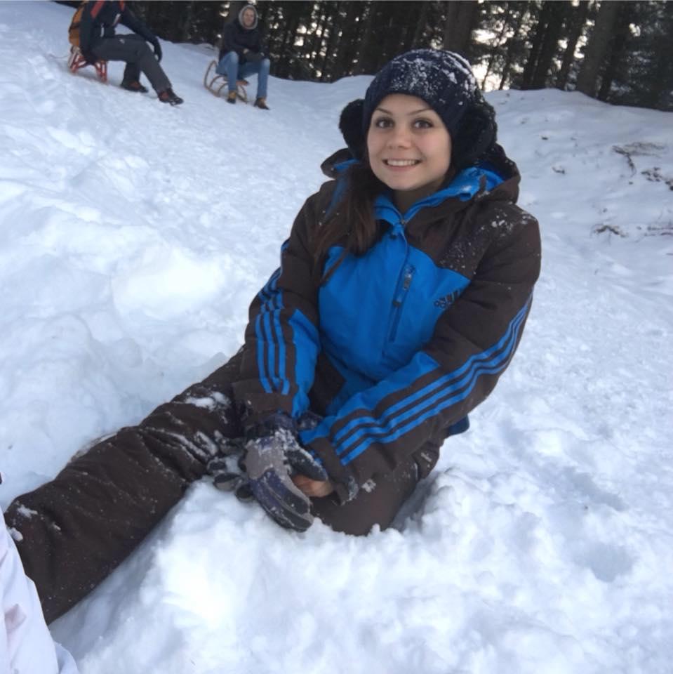 Irene sulla neve
