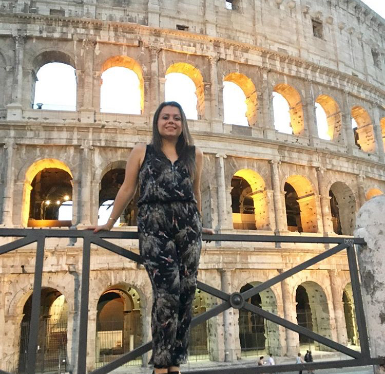 Irene al Colosseo