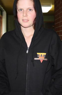 custom apparel zip hoodie sweatshirt ful