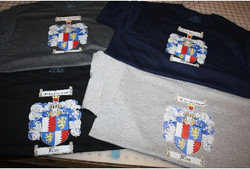 Rice Family Crest Family reunion tshirt